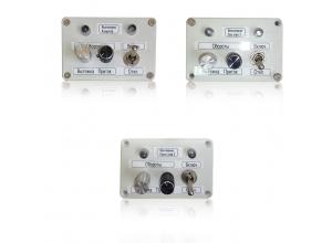 Внешний пуль управления вентиляцией по тех. заданию заказчика, собственной разработки и производства.