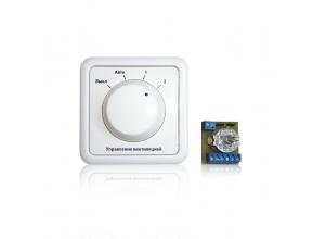 Внешний пульт управления вентиляцией собственной разработки и производства по тех заданию заказчика.