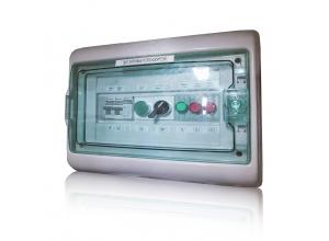 Щит контроля давления теплоносителя в системе отопления.