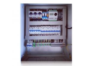 """Щит приточно-вытяжной установки с роторным рекуператором , электрическим нагревателем (3 ступени ) и возможность подключения """"СКАДА"""" системы"""